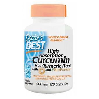 Doctors Best Best Curcumin C3 Complex with BioPerine, 120 Caps