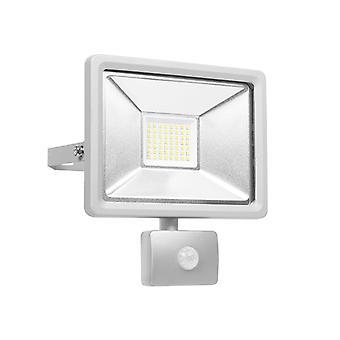 Byron SL1-DOB30 Ultra Slim Integrated LED Floodlight With Sensor 30w 2100 Lumen