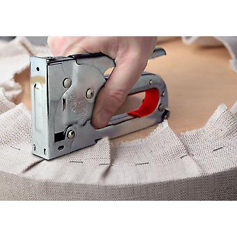Staple gun fabric upholstery diy powerful staple gun tacker with 1000 staples