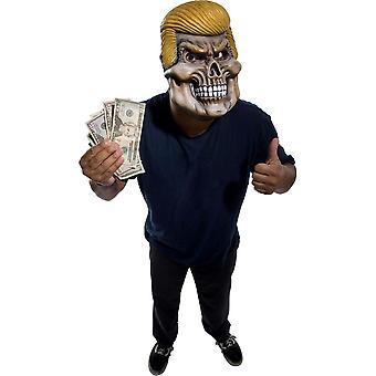 Bristol Novelty Halloween Fancy Dress Costume - Adult - Death Dealer Mask