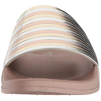Kenneth Cole Reaction Womens Pool Pipes Open Toe Beach Slide Sandals