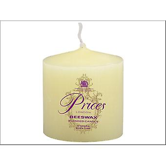 Prices Beeswax Candle 7.5 x 7cm GC030615