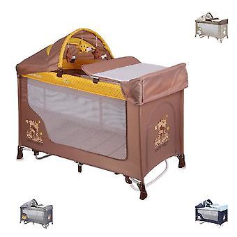 Lorelli baby Travel Bed kör stabilt REMO 2, Swing funktion, madrass, väska