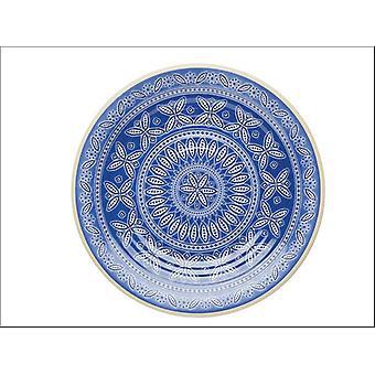 Kitchen Craft Santorini Melamine Snack Plate KCSMSPLATEST