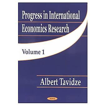 Progrès dans la recherche en économie internationale