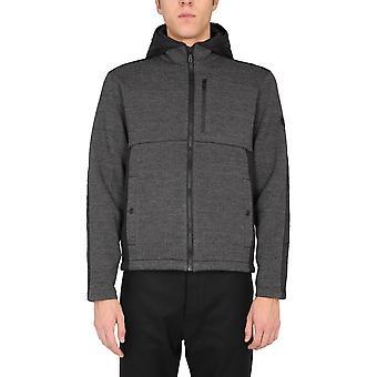 Z Zegna Vv427zz814k09 Men's Black Polyester Outerwear Jacket