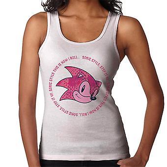 Sonic The Hedgehog Sonic Style Detta är hur jag Roll Women & apos; s Vest