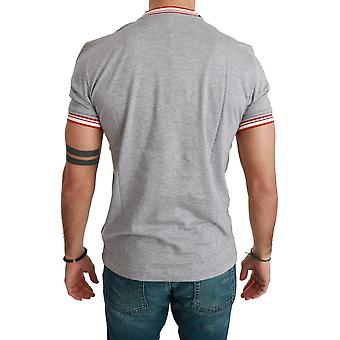 Gray Cotton Top 2019 Year of the Mister Pig T-shirt