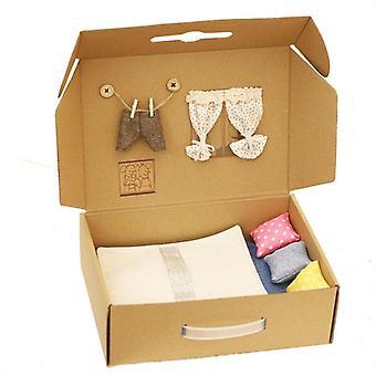 Mini Cute Mouse Doll Box