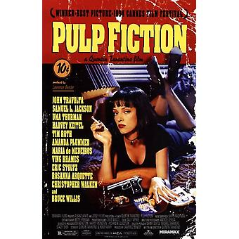 Pulp Fiction Movie Poster (11 x 17)