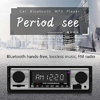 Vintage Car Bluetooth Fm Radio Mp3 Player