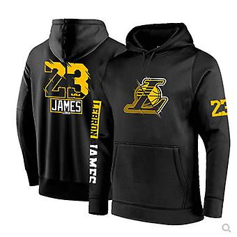 Los Angeles Lakers No.23 Lebron James Pullover Hoodie Swearshirt Tops 3WY021