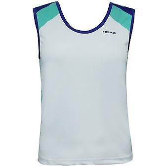 Head Girls Nano Junior Sleeveless Shirt Training Tank Top White 816043 164