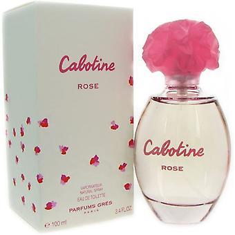 Gres Parfums Cabotine Rose Eau De Toilette Spray for Women 100 ml