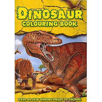 Aligator książki kolorowanki dinozaurów