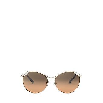 Tiffany TF3073B pale gold female sunglasses