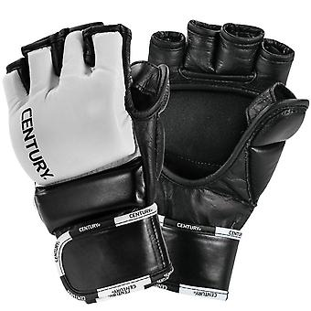 Century Creed Open Palm Wrist Wrap MMA Training Gloves  - Black/White