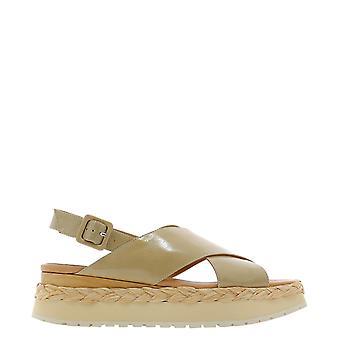 Paloma Barceló Anambeilorytorrone Women's Beige Leather Sandals