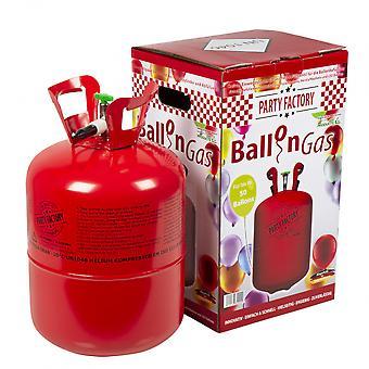 Helium Tank Stål Röda Latex Ballonger Bt393027