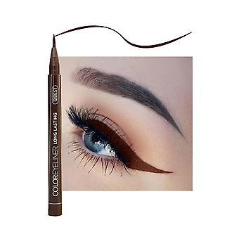 12 barevná oční linka tekutá vodotěsná snadno se nosí make-up oční linky