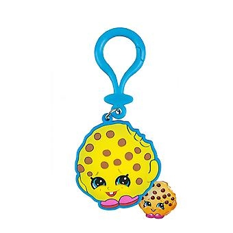 Shopkins Kooky Cookie Yellow Collectable Toy Bag Tag Keyring