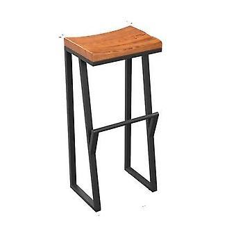 High Stool Leisure Bar Chair Front Coffee Chair