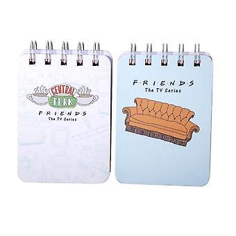 Amigos mini cuadernos con alambre