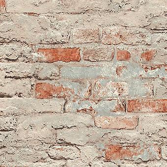 Andy Wand Brick Effect Wallpaper