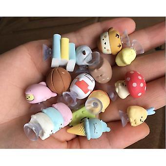 50 pezzi / lotto Cartone animato Belle bambole animali per la decorazione della casa di compleanno