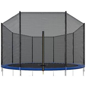 Trampolinnetz - 305 cm - Außenkante - 6 Stangen