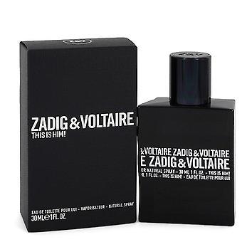 Tämä on hänelle Eau de Toilette Spray Zadig & Voltaire 1 oz Eau de Toilette Spray