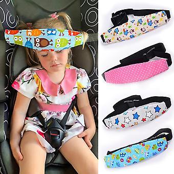 Infant Baby Car Seat Head Support Children Belt Fastening Belt Adjustable Boy Girl Playpens Sleep Positioner Baby Saftey Pillows