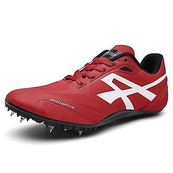 Women/men Track Field Spikes Athlete Running Training Racing Shoes