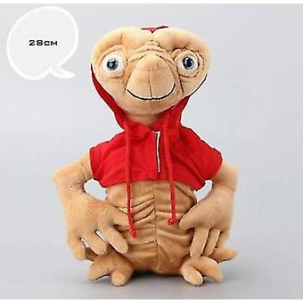 28cm E.t Plush Doll Toy Extra-terrestrial Puppets With Cloth Plush Extraterrestrial Stuffed Doll Christmas Gift