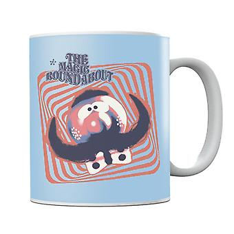 The Magic Roundabout Zebedee Psychedelic Lines Mug