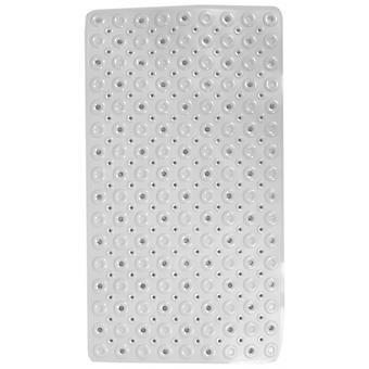 badvorleger 70 x 39 cm PVC weiß