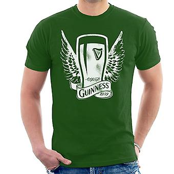 Guinness Vintage Pint With Wings Men's T-Shirt
