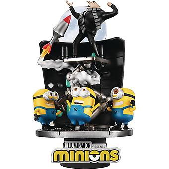 Minions Ds-050 Stealing Moon D-Stage Ser 6 Statue USA import