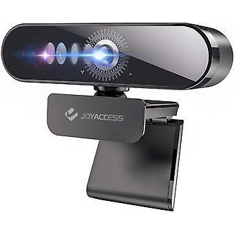 FengChun Webcam HD 1080P, Webcam mit Mikrofon fr PC, Laptop, Windows, Mac, mit Low-Light Korrektur,