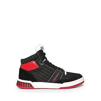 Bikkembergs - Shoes - Sneakers - SIGGER-B4BKM0110-001 - Men - black,red - EU 40