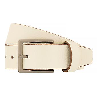 LLOYD Men's Belts Belt Men's Belt Leather Belt Belt White/Beige 6888