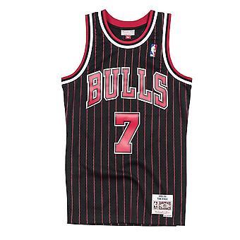 Mitchell & Ness Nba Chicago Bulls Toni Kukoc Swingman Jersey SMJYAC18082CBUBLCK95TKU koripallo koko vuoden miesten t-paita