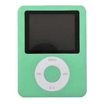 Mini MP3 Musik hohe Qualität tragbare MP3 (Grün)