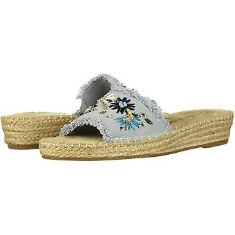 Bella Vita Naisten cher 2 kangas avoin toe rento muuli sandaalit