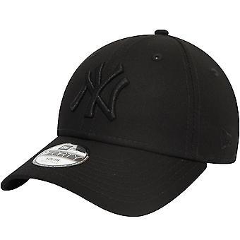 ניו עידן נוער ניו יורק יאנקיז יסודות 9Forty כובע - שחור - 6-12 Yrs