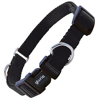Gloria Pets Nylon Double Use Collar Black (Dogs , Collars, Leads and Harnesses , Collars)