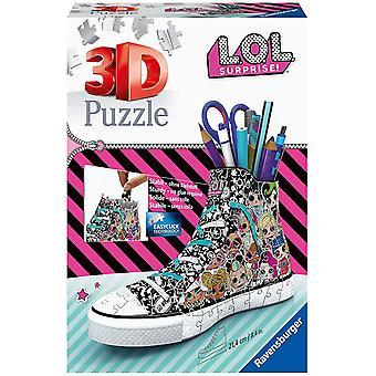 Ravensburger 3D Puzzle Sneaker L.O.L. Surprise - 108 Pieces