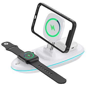 3 In 1 Wireless Charger Magnetic Phone Charger Watch Charger Earphone Charger Mobile Phone Holder
