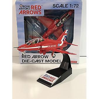 Red Arrow BAE Hawk 1:72 Scale RAF 40608