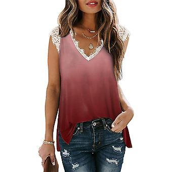 Lohill Womens Short Sleeve T-shirts Blouse Tops Ladies Casual V-neck Pullover Tunic Tee